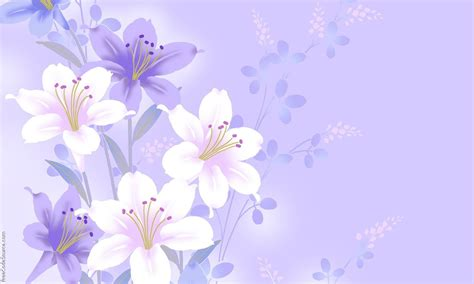background flowers flower background wallpapersafari