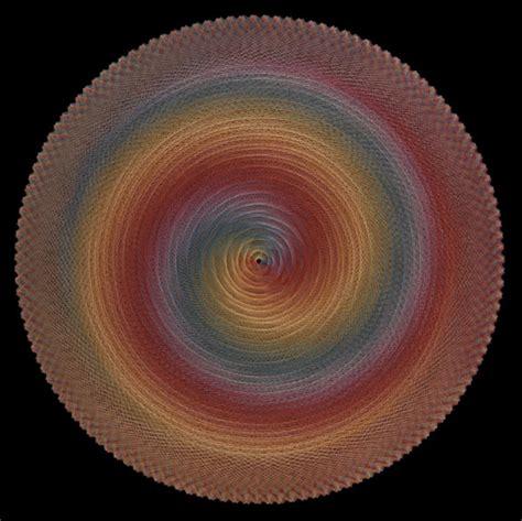 Spiral String - spiral stringart