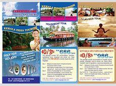 Kerala Tour Package Services Kerala Tourism Brochure