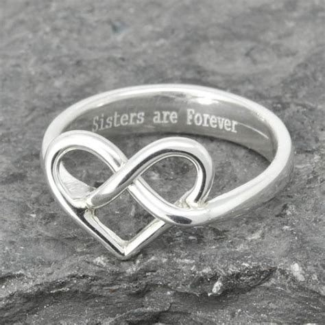 infinity ring of honor best friend promise