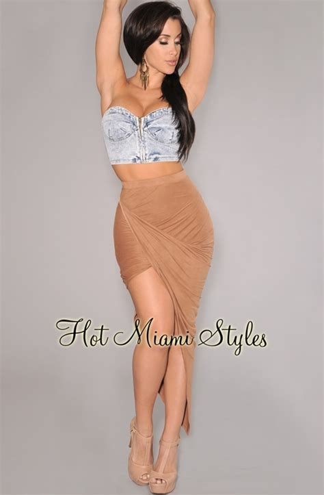ruched draped skirt mocha ruched asymmetrical draped skirt