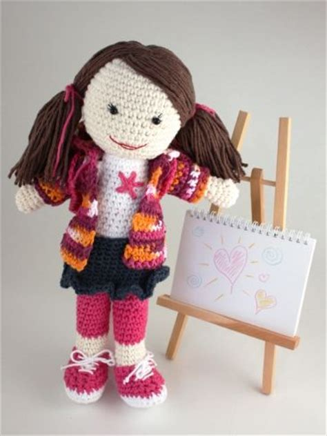 pattern for yarn doll back to school lily doll yarn free knitting patterns