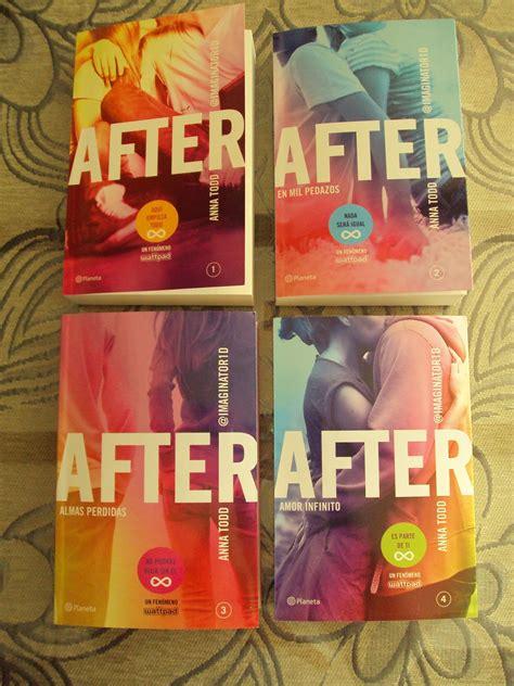 libro 4 libros en 1 after 4 amor infinito anna todd
