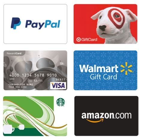how to earn free gift cards walmart target paypal amazon more diy thrill - How To Earn Paypal Gift Cards