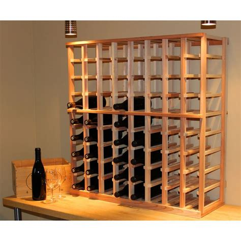 Wine Rack Storage by Redwood 72 Bottle Wine Rack