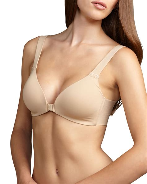 Front Closure Wireless Bra lyst spanx bra llelujah wireless front closure bra in