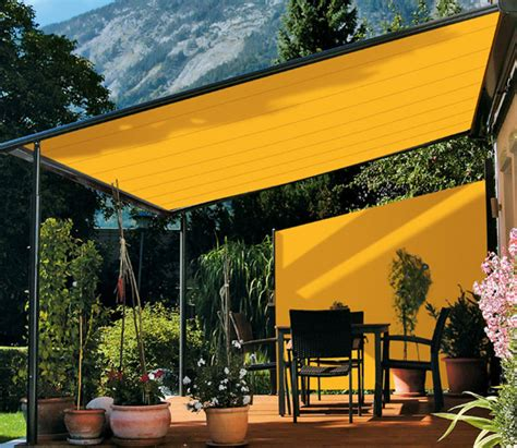 Awnings For Patios And Decks by Deck Awning Ideas Outdoortheme