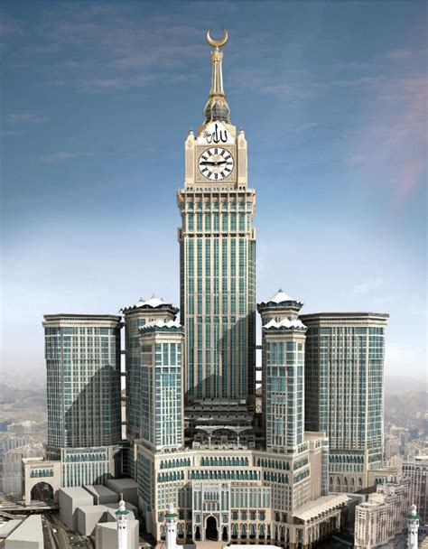 architecture corner abraj al bait tower