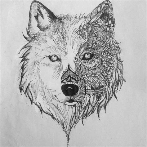 wolf drawings 22 amazing collection of wolf