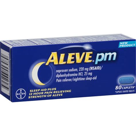 yahoo email zoomed out aleve pm pain reliever nighttime sleep aid caplets 80