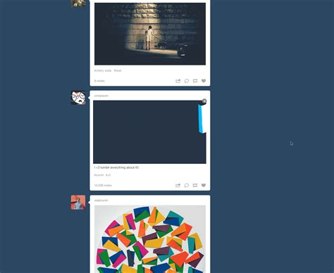 tumblr layout update tumblr is making videos a lot more like gifs the verge