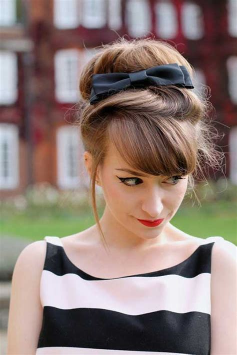 hairstyles with big buns pretty big bun hairstyles for ladies hairstyles