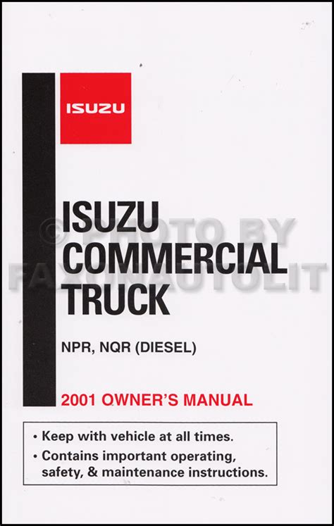 Isuzu Npr Troubleshooting 2001 2002 Npr Nqr W3500 W4500 W5500 Electrical
