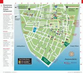 Downtown Map Charleston Sc Maps Traveler Mag