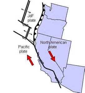 california plate boundary map teaching 101 plate