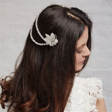 hair drapes esme statment vintage hair drape by azure jewellery