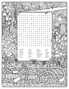 earthy color crossword word searches fall fill in crossword puzzle print