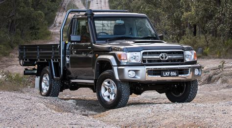 land cruiser 70 2017 toyota landcruiser 70 series australian updates