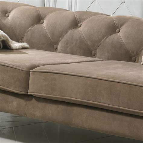 Nubuck Leather Sofa Modern Italian Nubuck Leather Designer Sofa