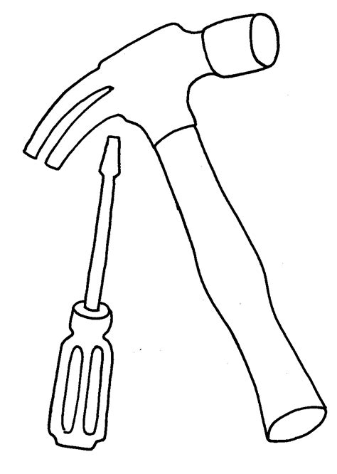 Free Gardening Tools Coloring Pages Tools Colouring Pages