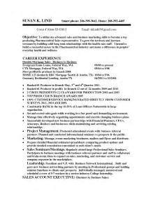 Pharmaceutical Sales Rep Resume Exles by Veterinary Sales Resume Sales Sales Lewesmr