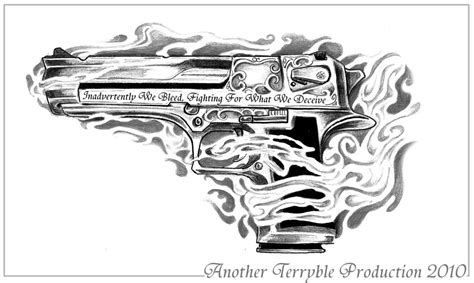 desert eagle tattoo gallery request work desert eagle by terryrism on deviantart