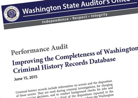 Washington State Felony Records Criminal Database In Washington State Missing Tens Of Thousands Of Records Kuow News
