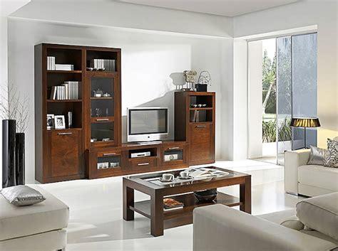 muebles de salon  mueble tv nogal en  muebles