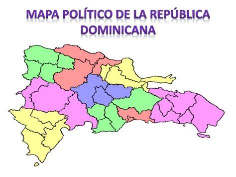 la repblica y sus divisi 243 n pol 237 tica y regional de la rep 250 blica dominicana