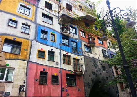 Unconventional Dr Seuss like Architecture of Hundertwasser