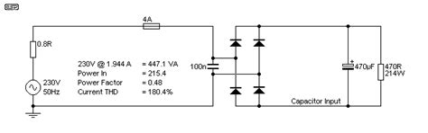 passive pfc inductor calculation passive pfc
