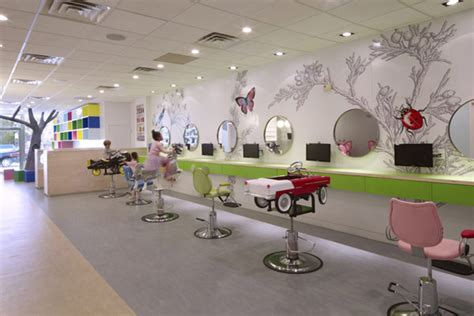 naturalistic hair salons colorful nature inspired hair salon for kids in new york
