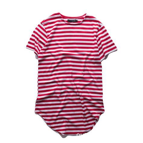 Longline T Shirt Basic Black 4 cotton curved hem longline t shirt black white striped t shirts oversized fashion