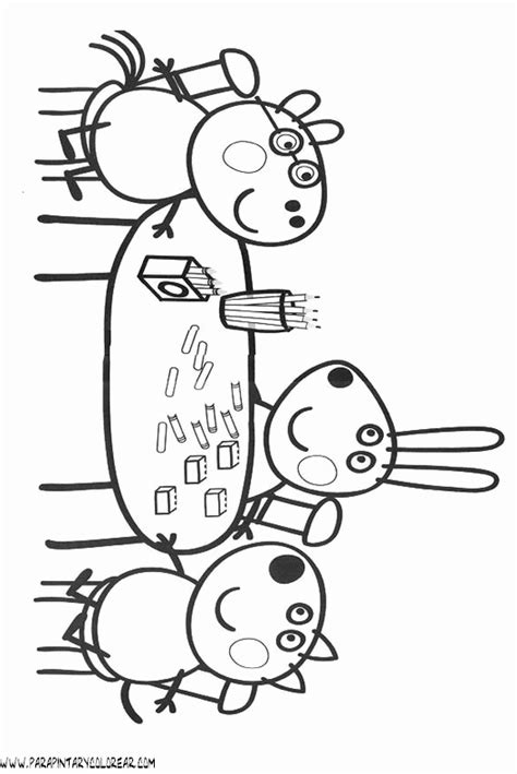 dibujos para colorear de peppa pig dibujos de peppa pig juegos peppa pig como pintar a peppa