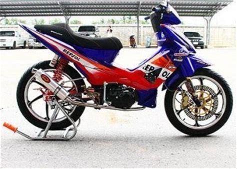 Sparepart Honda Revo 110 modifikasi motor mobil modifikasi honda revo 110 cc 135 cc
