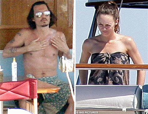 johnny depp vanessa paradis tattoo ahoy there johnny depp sets sail on romantic voyage