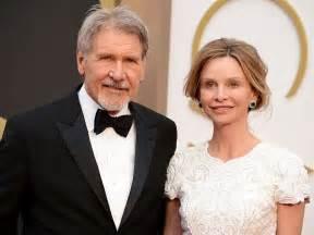 Harrison Ford Calista Flockhart Harrison Ford Plane Crash Calista Flockhart Visits