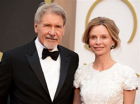 Calista Flockhart And Harrison Ford by Harrison Ford Plane Crash Calista Flockhart Visits
