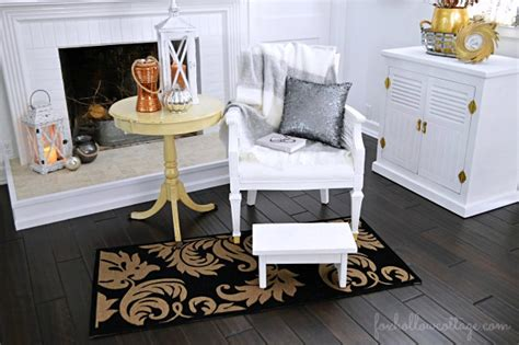 home good decor budget friendly fall decorating ideas mixed metals fox