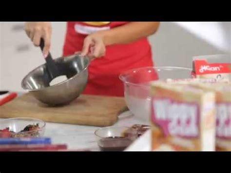 cara membuat donat farah quinn cara membuat chocolate pudding mousse bersama farah quinn