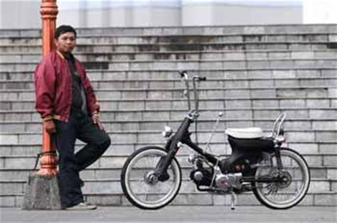 Honda Cup Modif by Modif Honda Cup C70 Customized Chooper Style Modif