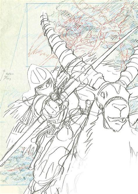 studio ghibli layout designs exhibition disegni e bozzetti di hayao miyazaki e isao takahata