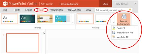 how to use a template in powerpoint format background in powerpoint online office blogs