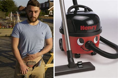 henry hoover tattoo barman with henry hoover tattooed on his crotch