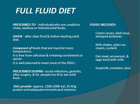 Modification Of Diet by Therapeutic Modification Of The Normal Diet Ppt