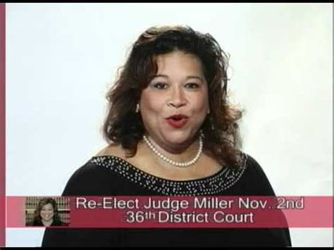 36th District Court Search Re Elect Judge Miller 36th District Court