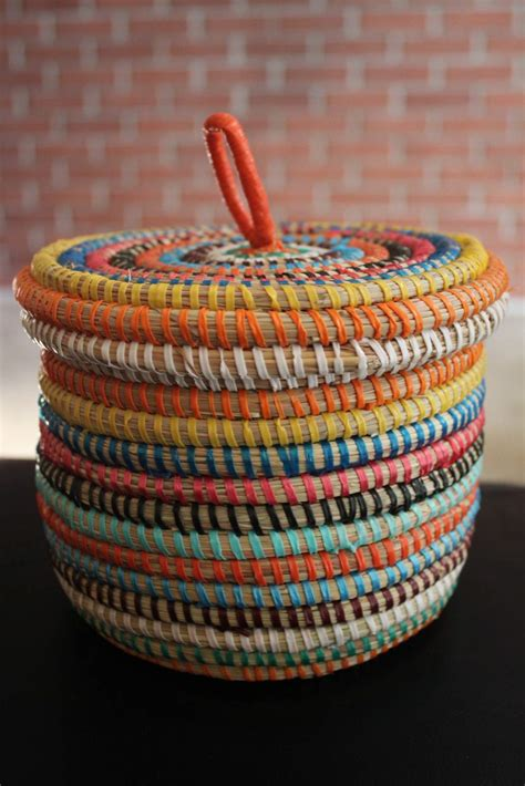 Handcrafted Baskets - a giveaway the view from here