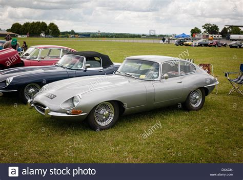 Car Types Saloon by Classic Jaguar E Type Sports Saloon Car In Uk Stock