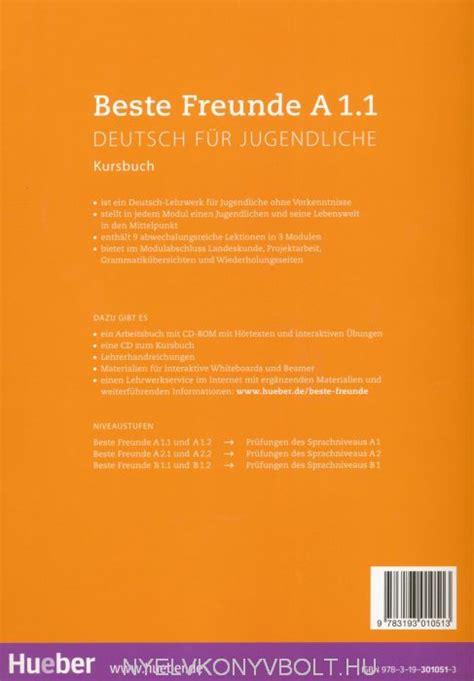 beste freunde kursbuch a1 1 beste freunde a1 1 kursbuch nyelvk 246 nyv forgalmaz 225 s