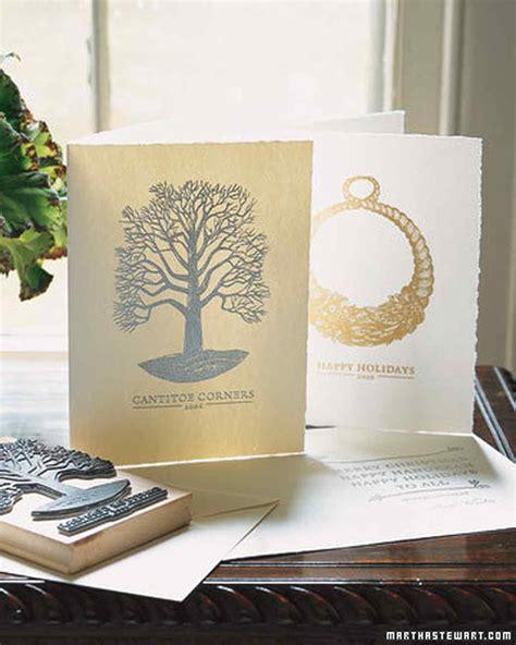 how to make letterpress cards embossed cards martha stewart